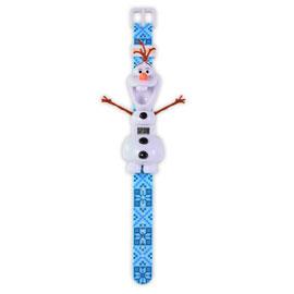 冰雪奇緣雪寶造型手錶/ MAGIC WATCH/ 立體/ LED顯示/ 兒童手錶/ 伯寶行