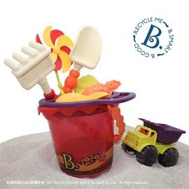 【B.Toys】玩沙酷奇桶(沙趣多多9件組)有二款可選擇
