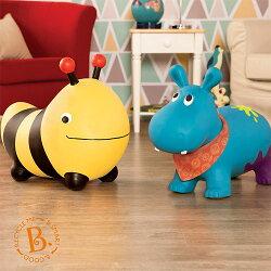 【B.Toys】蜜蜂跳跳/河馬跳跳(附打氣筒)