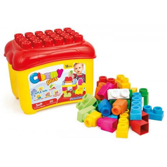 CLEMMY義大利軟積木-mini桶裝軟積木30pcs  14882