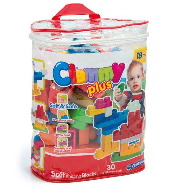 CLEMMY義大利軟積木-mini軟積木30入袋裝