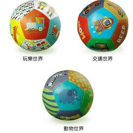 《美國Crocodile Creek》5吋寶寶感統遊戲皮球-玩樂世界/交通世界/動物世界