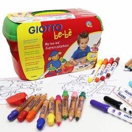 【義大利 GIOTTO】寶寶塗鴉樂(可洗式寶寶塗鴉禮盒)二款可選擇