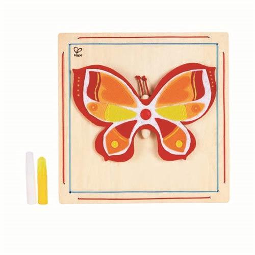 【德國Hape愛傑卡】木製工藝系列美麗蝴蝶