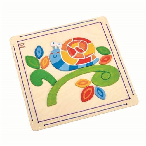 【德國Hape愛傑卡】木製工藝系列蝸牛彩繪