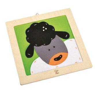 【德國Hape愛傑卡】木製工藝系列綿羊刺繡