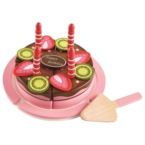 【德國Hape愛傑卡】生日蛋糕