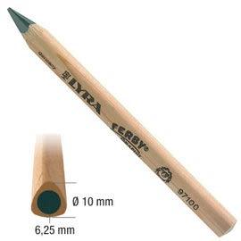 【德國LYRA】兒童三角原木鉛筆(12cm) 1入 產地:德國