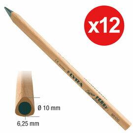 【德國LYRA】兒童三角原木鉛筆(17.5cm) 12入  產地:德國