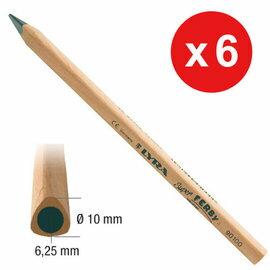 【德國LYRA】兒童三角原木鉛筆(17.5cm) 6入 產地:德國