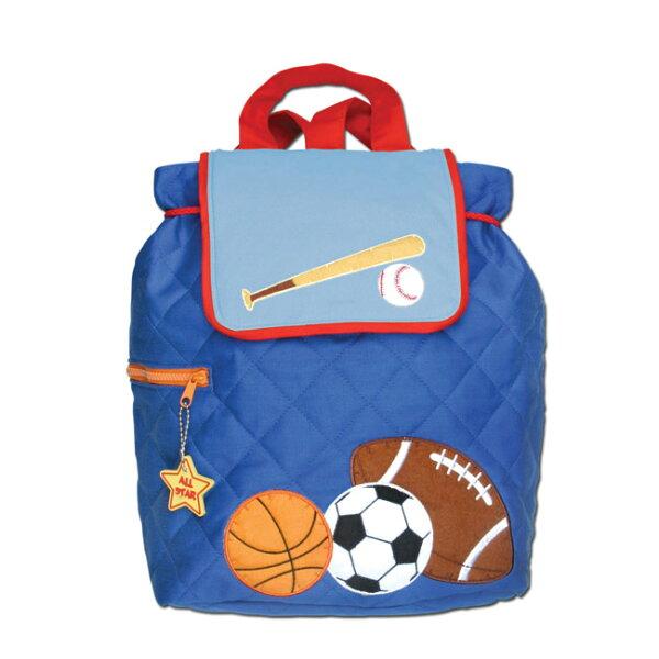 《美國StephenJoseph》GOGO兒童休閒布背包(運動玩家)