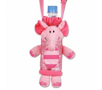 《美國StephenJoseph》兒童造型水壺袋-粉紅象