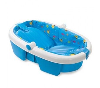 《美國Summer infant》可攜式幼兒摺疊澡盆(浴盆) ㊣原廠授權總代理公司貨