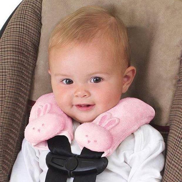 《美國Summer infant》寶寶肩頸保護枕(粉紅)  ㊣原廠授權總代理公司貨