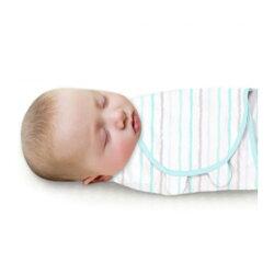 《美國Summer infant》聰明懶人育兒包巾-藍彩條紋 ㊣原廠授權總代理公司貨