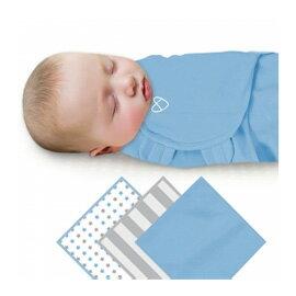 《美國Summerinfant》聰明懶人育兒包巾-藍星條紋3入組㊣原廠授權總代理公司貨