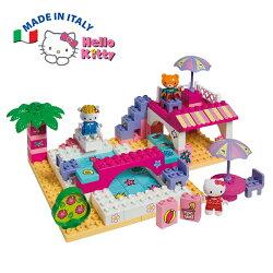 【義大利Unico】Hello Kitty-渡假戲水豪華組-87pcs 義大利製