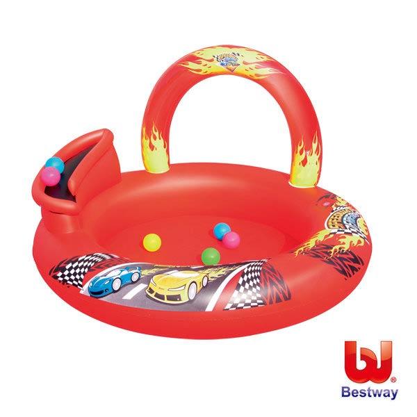《Bestway》賽車遊戲池球池水池游泳池戲水池蓄水池(69-13989)