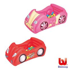 《Bestway》賽車造型球池/遊戲池-紅色、粉色(69-05670)