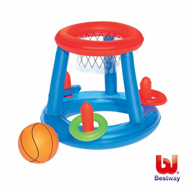 《Bestway》24吋水陸兩用充氣籃球附框(69-14450)