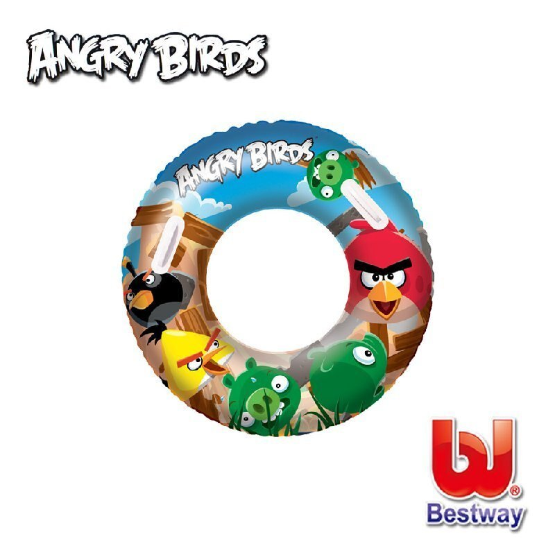 《Bestway》憤怒鳥36吋充氣泳圈(69-12692)96103