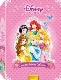 迪士尼公主典藏套裝 (一)-DVD 普通版