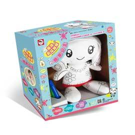 双美文創 創意小玩家-好洗歡魔法彩繪娃娃:糖果娃娃