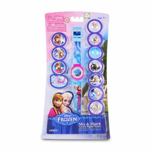 冰雪奇緣LCD多變手錶/ 5 FUNCTION LCD WATCH MIX & MATCH DIALS/ 艾莎/ 安娜/