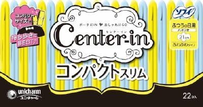 大賀屋 日用 衛生棉 翅膀 女性 用品 衛生 衛生巾 Unicharm Center-In 日本 日本製 正版授權 J00014389