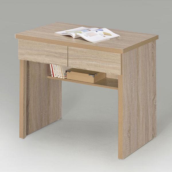 書桌 電腦桌 工作桌 學生書桌 辦公桌 桌子 套房出租《YoStyle》簡約二抽書桌-橡木色