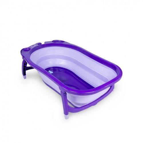 ★衛立兒生活館★凱俐寶 KARIBU TUBBY 折疊式澡盆/浴盆(紫羅蘭)