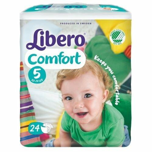 『121婦嬰用品館』麗貝樂 Libero 嬰兒紙尿褲(尿布) XL 5號-24片x8包/箱