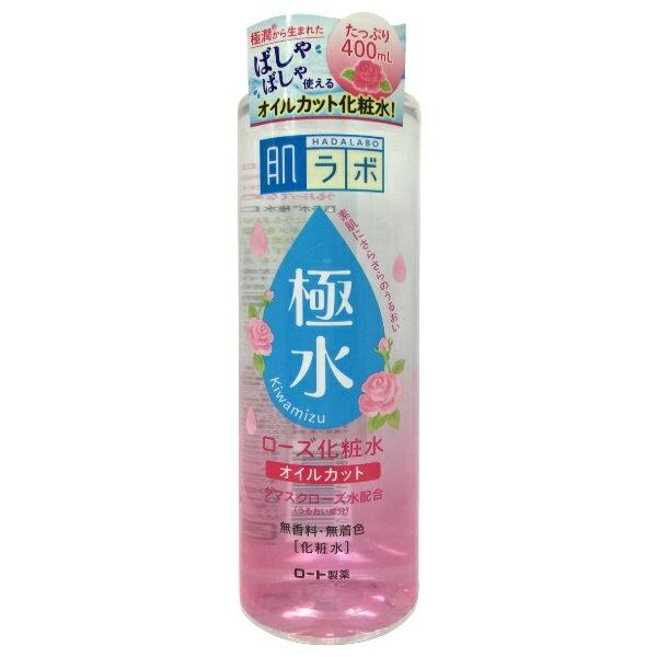 日本 《ROHTO 樂敦》肌研極水玫瑰保濕化妝水400ml