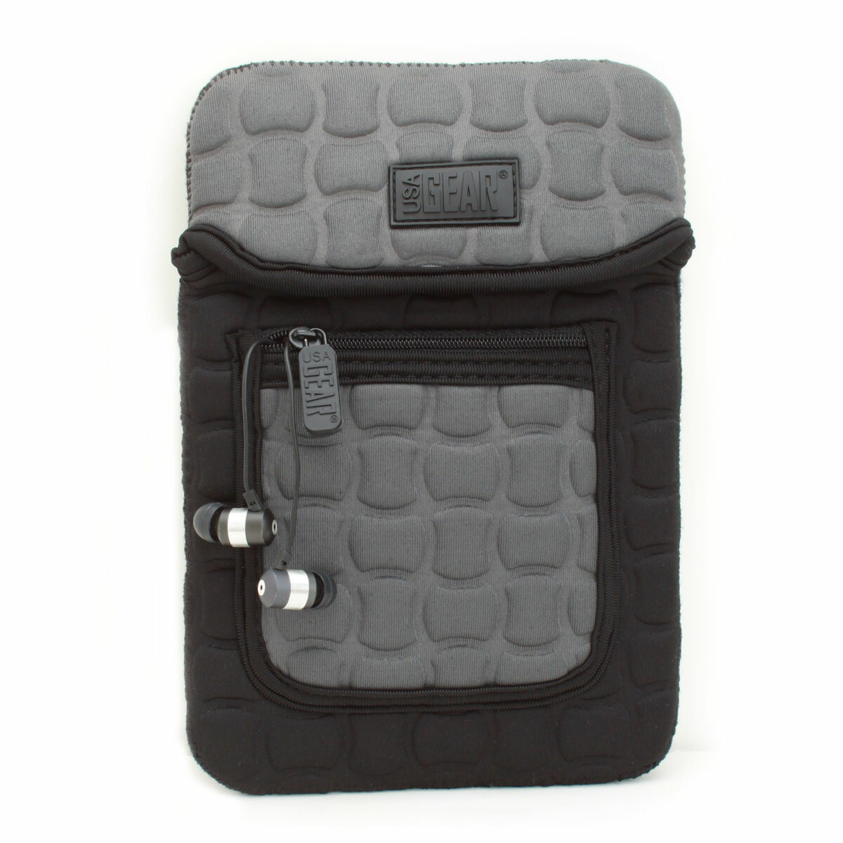 FlexARMOR X Neoprene eReader Sleeve Case with Carrying Handle , Shock Protection & Accessory Pocket 7