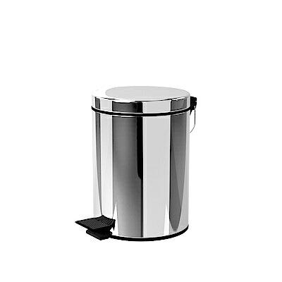 TRENY 加厚靜音緩降 不鏽鋼垃圾桶 5L