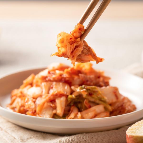果香泡菜(500公克/包)嚴選韓國進口黃金大白菜.新鮮蘋果自然發酵-「限量」老饕必吃新鮮美味【轉屋家】泡菜鍋、泡菜海鮮煎餅、泡菜炒年糕、泡菜起司蛋餅、泡菜沙拉