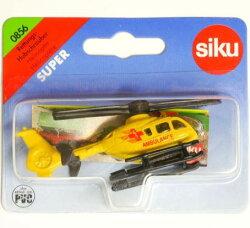 (卡司 正版現貨) 德國小汽車 SIKU 直升機 SU0856 兒童禮物 模型車 玩具車