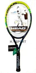 【H.Y SPORT】 HEAD Challenge Lite 全碳纖網球拍-綠 232447 (送止滑握把皮/網球)
