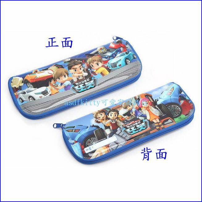 asdfkitty可愛家~TOBOT機器戰士L號防水環保餐具袋 筆袋 收納袋~韓國製