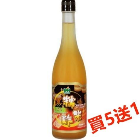 (買5送1) 穀盛 XO糯米醋 600ml/瓶