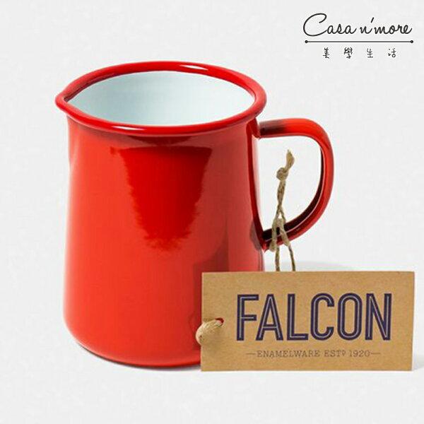 Falcon獵鷹琺瑯1品脫水壺水瓶水杯紅白