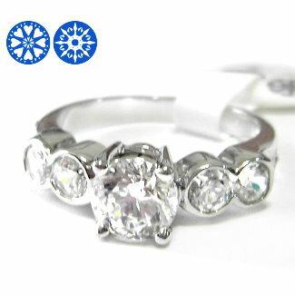 經典四爪時尚八心八箭鋯石戒指