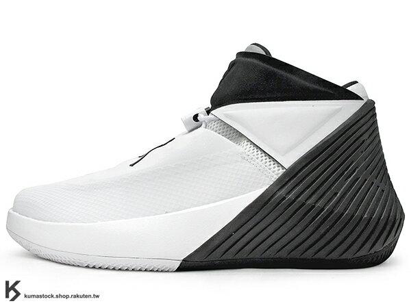 2018 雷霆隊 Russell Westbrook 首雙個人簽名鞋款 NIKE AIR JORDAN WHY NOY ZER0.1 PFX 白黑 忍者龜 西河 MVP 大三元製造機 全掌 ZOOM 氣墊 MVP (AO1041-110) ! 0