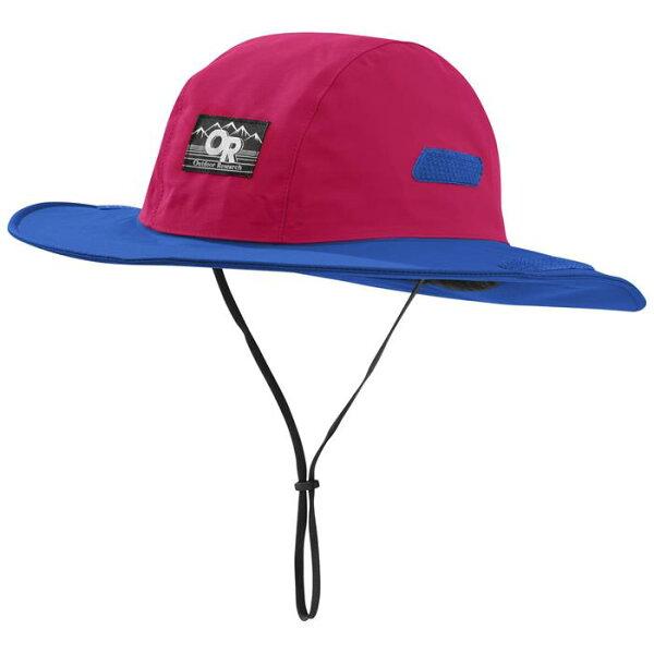 OutdoorResearch西雅圖防水圓盤帽防水登山帽RetroSeattleGore-tex264407復古紅1266