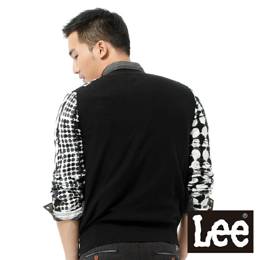 【領券滿1,200再折120】Lee 長袖毛衣外套 男款