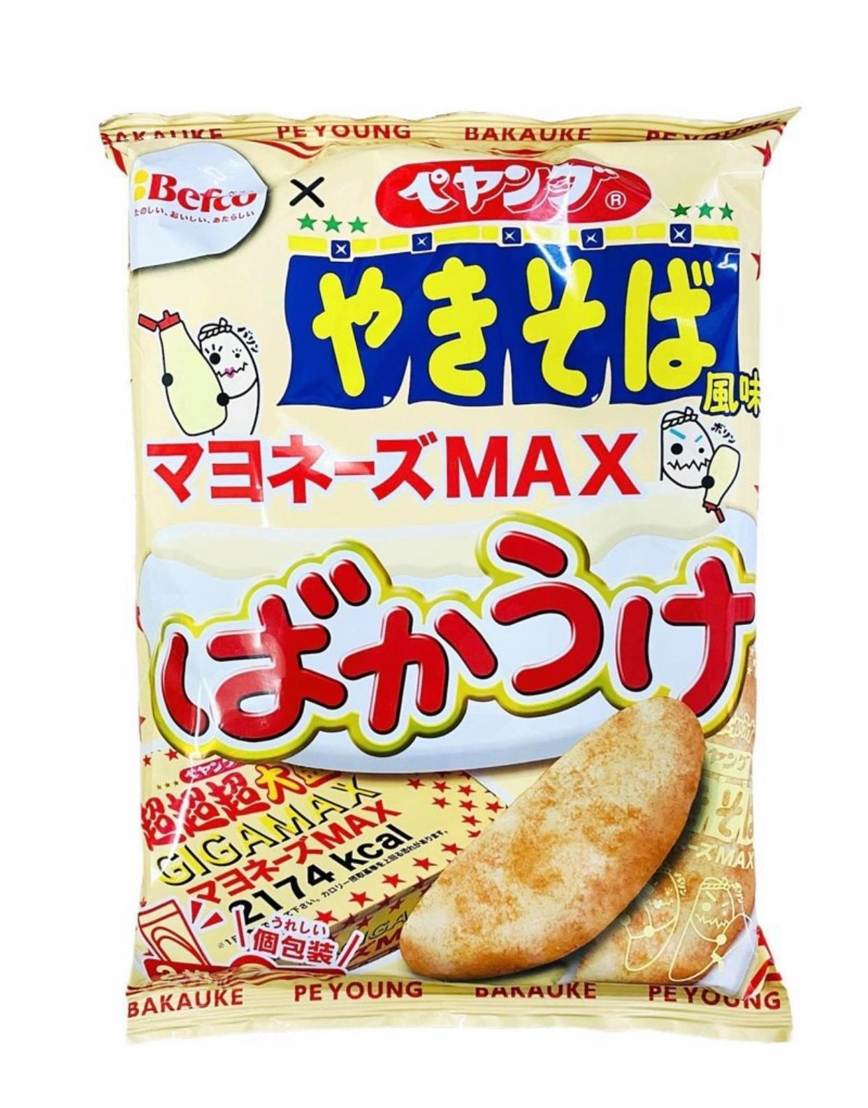 Befco 美乃滋炒麵風味米果 82g