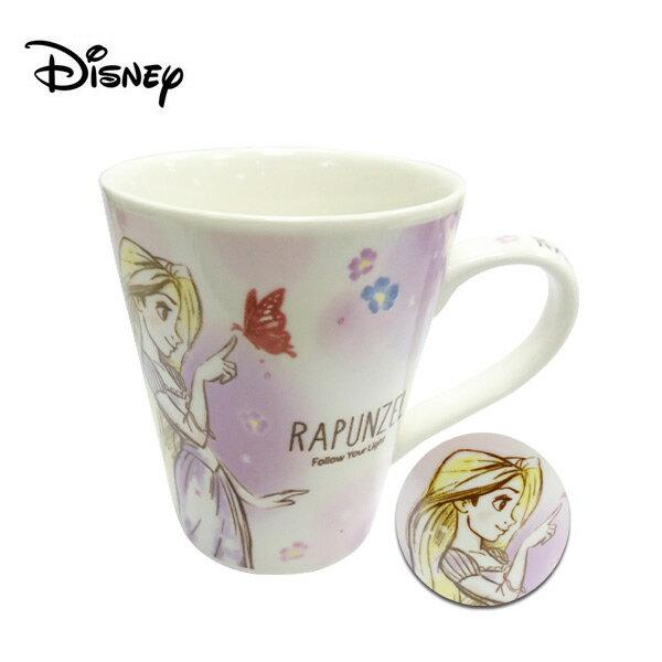 【日本正版】長髮公主 陶瓷 馬克杯 250ml 咖啡杯 魔髮奇緣 樂佩 迪士尼 Disney - 483568