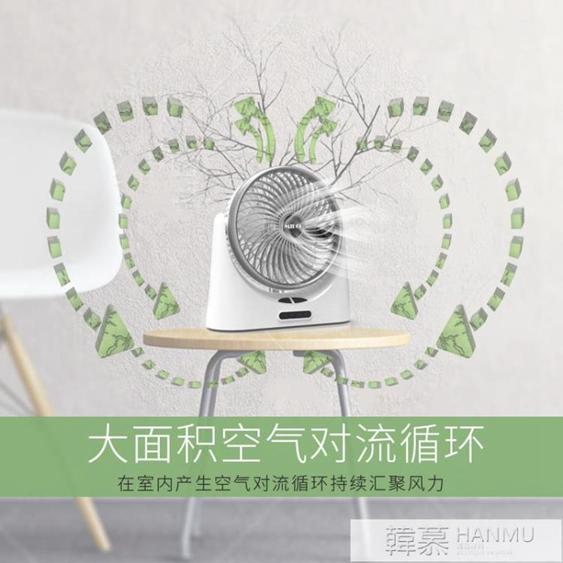 usb小風扇可充電迷你隨身靜音學生宿舍辦公室桌面臺式電扇手持便攜式  夏洛特居家名品