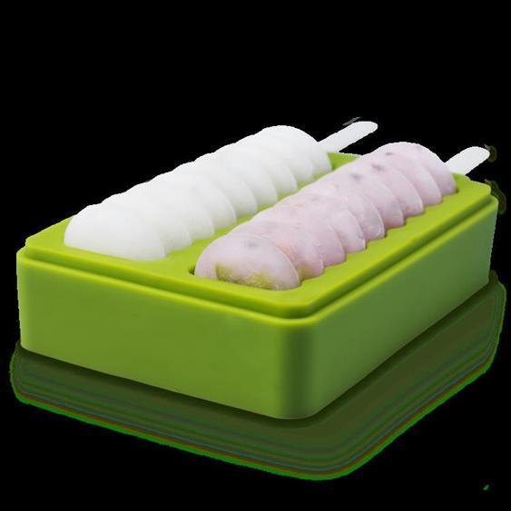 烘焙膜具 雪糕模具家用自制硅膠無毒創意兒童冰棒冰棍冰淇淋模具