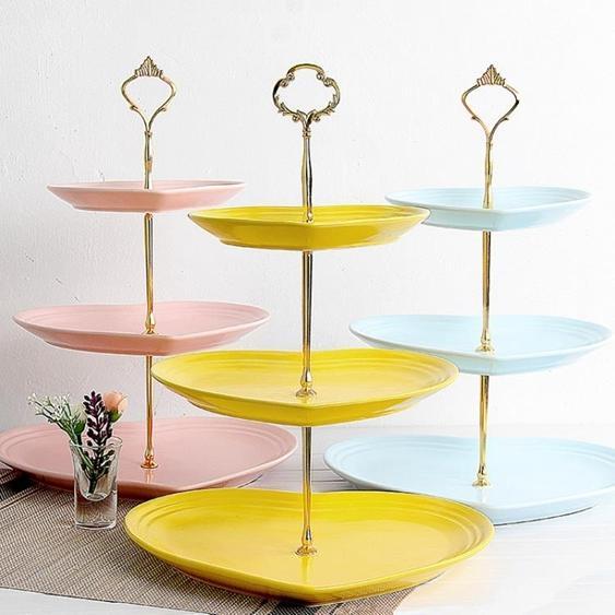 碟子 瓷江湖陶瓷水果盤客廳下午蛋糕架零食茶點心甜品糖果托盤